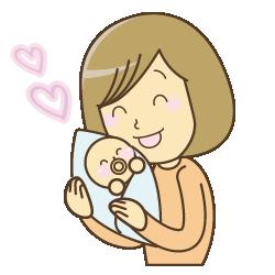 産後イラスト
